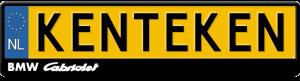bmw-cabriolet-kentekenplaathouder-zwart