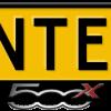 Fiat-500x-uitstekend-kentekenplaathouder