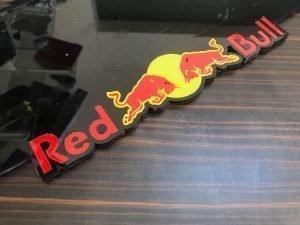 redbull plaathouder