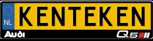 Audi-Q5-kentekenplaathouder