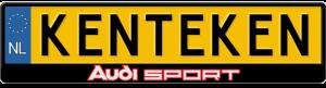 Audi-sport-kentekenplaathouder