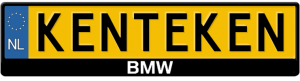 BMW-3D-Kentekenplaathouder