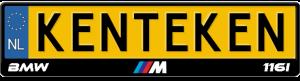 BMW-M-116i-kentekenplaathouder