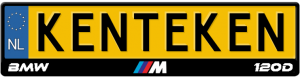 BMW-M-120d-kentekenplaathouder
