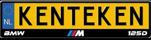 BMW-M-125d-kentekenplaathouder