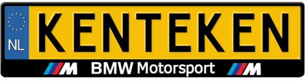 BMW-motorsport-kentekenplaathouder