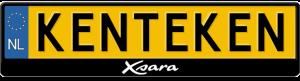 Citroen-Xsara-kentekenplaathouder
