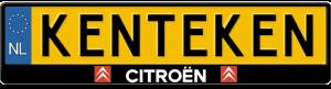 Citroen-kentekenplaathouder