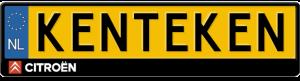 Citroen-logo-kentekenplaathouder