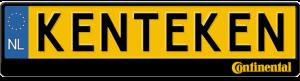 Continental-Tyres-logo-kentekenplaathouder