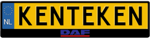 Daf-trucks-3d-kentekenplaathouder