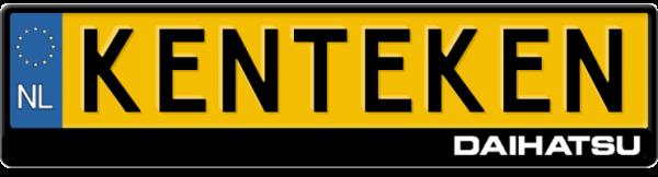 Daihatsu-logo-kentekenplaathouder