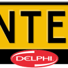 Delphi-kentekenplaathouder