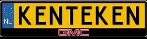 GMC-Kentekenplaathouder