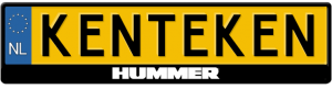 Hummer-logo-kentekenplaathouder