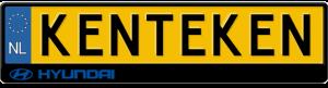 Hyundai-Motor-logo-kentekenplaathouder