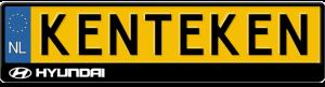 Hyundai-logo-kentekenplaathouder