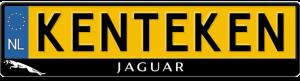Jaguar-kentekenplaathouder