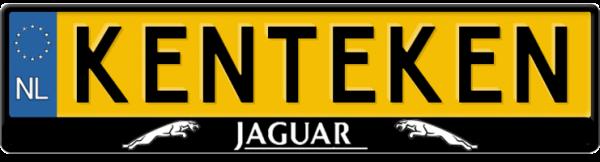Jaguar-streep-kentekenplaathouder