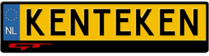 Kia-GT-kentekenplaathouder