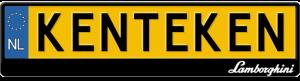 Lamborghini-logo-kentekenplaathouder