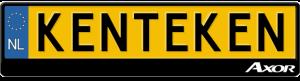 Mercedes-Axor-kentekenplaathouder