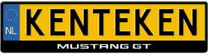 Mustang-GT-kentekenplaathouder