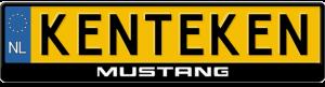 Mustang-logo-kentekenplaathouder