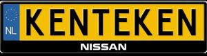 Nissan-3D-kentekenplaathouder