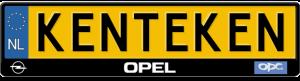 Opel-OPC-line-kentekenplaathouder