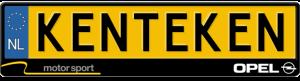 Opel-motorsport-kentekenplaathouder