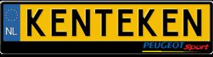 Peugeot-sport-kentekenplaathouder