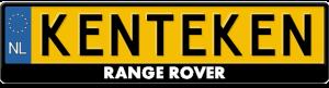 Range-Rover-kentekenplaathouder