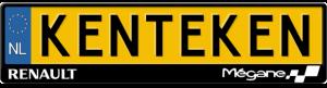 Renault-Megane-kentekenplaathouder