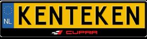 Seat-Cupra-kentekenplaathouder