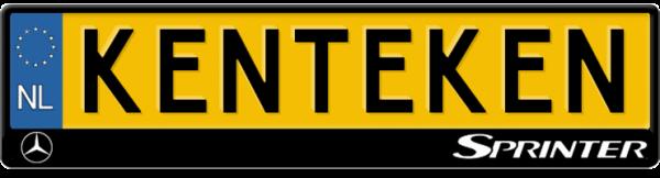 Sprinter-logo-kentekenplaathouder