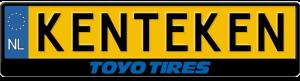 Toyo-tires-kentekenplaathouder