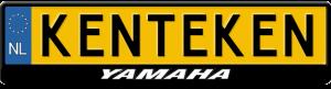 Yamaha-old-logo-kentekenplaathouder