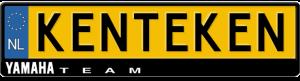 Yamaha-team-kentekenplaathouder