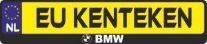 BMW logo kentekenhouder