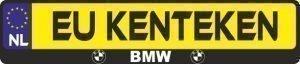 BMW logo nummerplaathouder